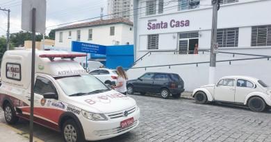 Há quase cinco anos sob intervenção, Santa Casa de Cruzeiro enfrenta dívida de R$ 20 milhões em 2019 (Foto: Jéssica Dias)