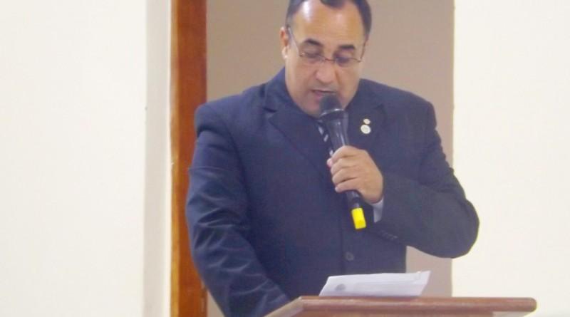 Mario Celso Santana, presidente da Câmara investigado pelo TCE (Foto: Arquivo Atos)