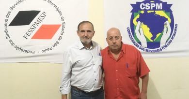 Ayres e Airis; Sisemug e Federação dos Servidores; eleição polêmica (Foto: Leandro Oliveira)