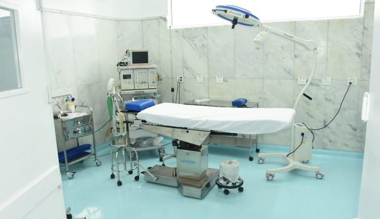 Estrutura de atendimento da Santa Casa de Ubatuba; participação da Prefeitura no hospital é estendida (Foto: Divulgação PMU)