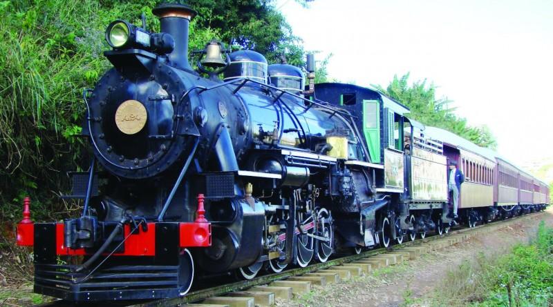 O trem turístico de Passa Quato; Cruzeiro espera retomaa de projeto (Foto: Reprodução ABPF)