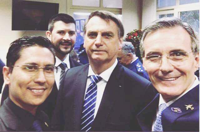 Regis, Celão, Bolsonaro e Soliva