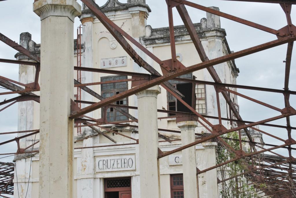 A Etação Ferroviária de Cruzeiro que teve convênio recuperado para retomar restauração anunciada em 2017 (Foto: Arquivo Atos)