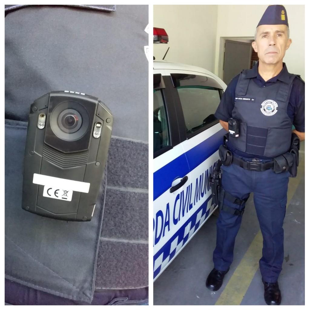 Câmera adquirida pela Prefeitura para auxiliar ações contra criminosos em Lorena; GCM segue reforçada (Fotos: Divulgação PML)