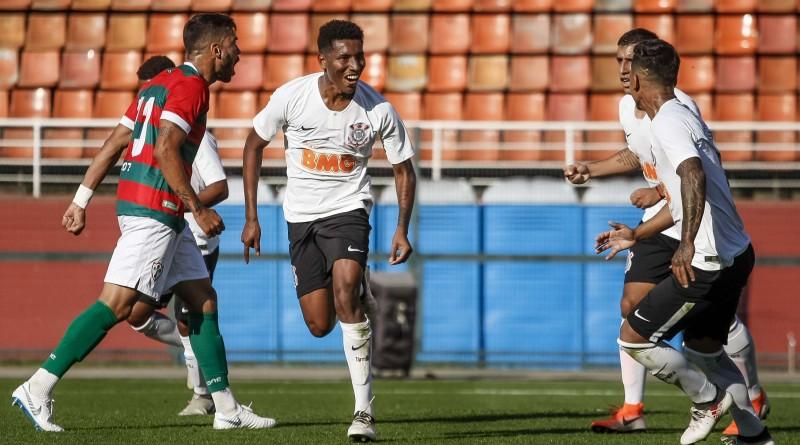 Corinthians sub 23, que joga neste sábado no Dario Rodrigues Leite (Foto: Agência Corinthians)