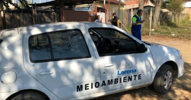 Visitas da equipe da Prefeitura de Lorena que faz varreduras contra ligações irregulares de esgoto (Foto: Reprodução PML)