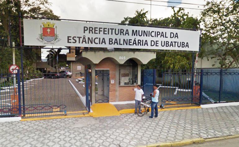 Prefeitura de Ubatuba, que lançou programa assistencial 'Frente de Trabalho', que concederá bolsas auxilio para que moradores desempregados (Foto: Reprodução)