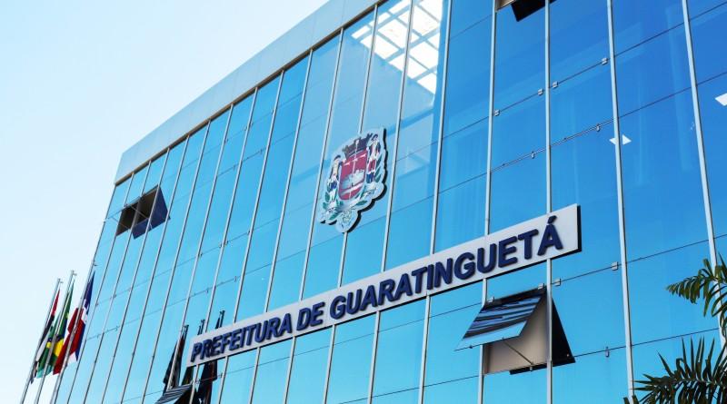 A sede da Prefeitura de Guaratinguetá que abriu 252 vagas de emprego; oportunidades são para concurso público e processo seletivo (Foto: Marcelo A. dos Santos)