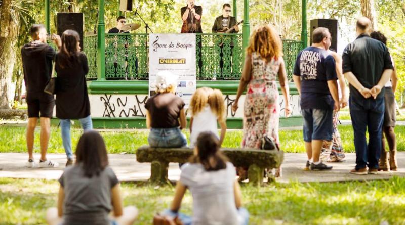 Evento no Bosque da Princesa; Pinda abre edital para ações artísticas (Foto: Divulgação PMP)