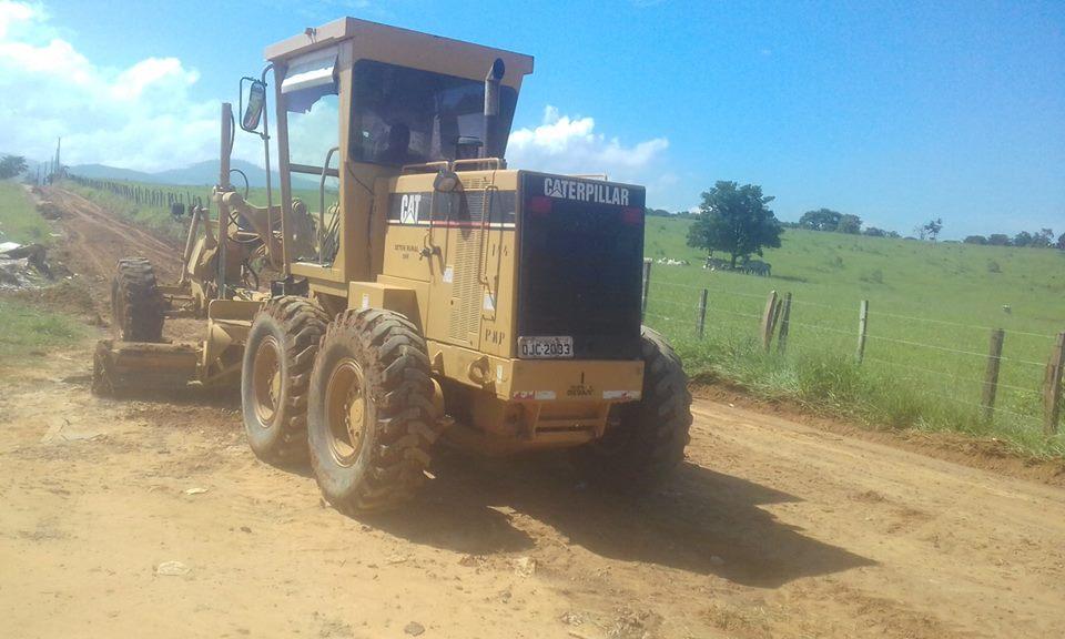 Atendimento no Bairro Ribeirão Grande, área atendida por serviço de regularização da Prefeitura de Pinda (Foto: reprodução)