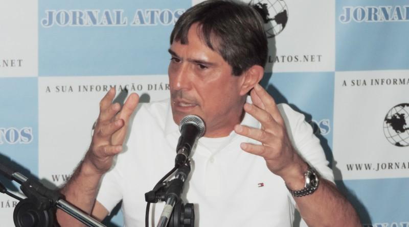 Fávio Marcondes, que viu seu veto ser barrado após votação por 12 a 4 (Foto: Rafaela Lourenço)