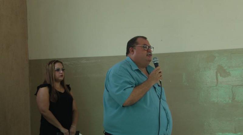 O prefeito de Roseira, Jonas Polydoro que