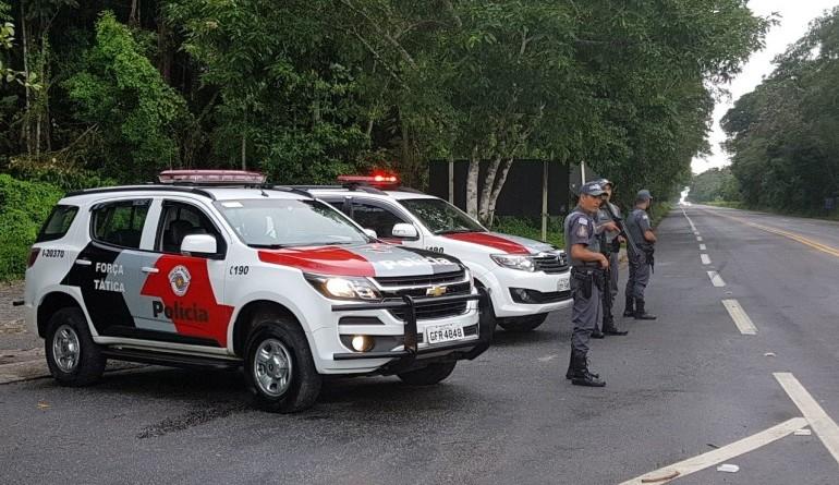 Trabalho de atendimento da Polícia Militar; RMVale tem queda de números após oito meses (Foto: Reprodução)