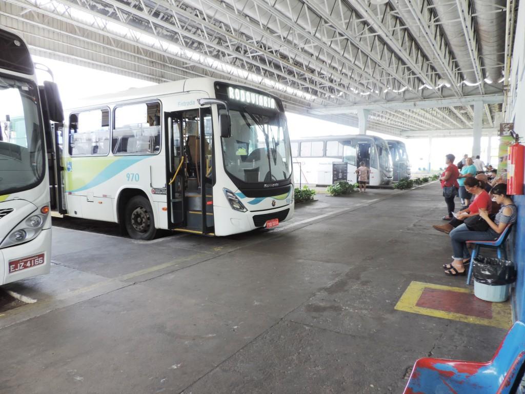 A rodoviária de Pinda que atualmente é a única a atender moradores e visitantes da cidade; entre obras, município terá novo terminal (Foto: Arquivo Atos)
