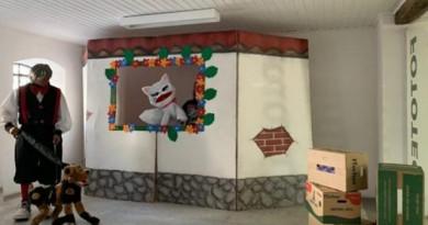 Prefeitura e shopping Pátio Pinda realizam apresentação teatral em comemoração ao Dia das Crianças