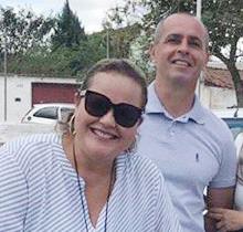 Marietta e Carlos Lescura