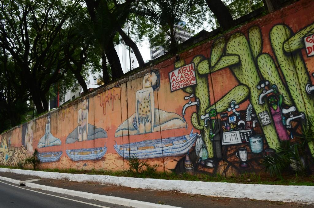 Arte em grafite é novo meio de ressocialização em Lorena; cidade investe R$ 8 mil em curso para jovens em L.A (Foto: Reprodução EBC)