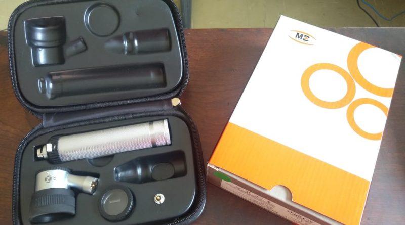 Otoscópios, aparelho para audição adquirido pela Prefeitura de Silveiras (Divulgação PMS)