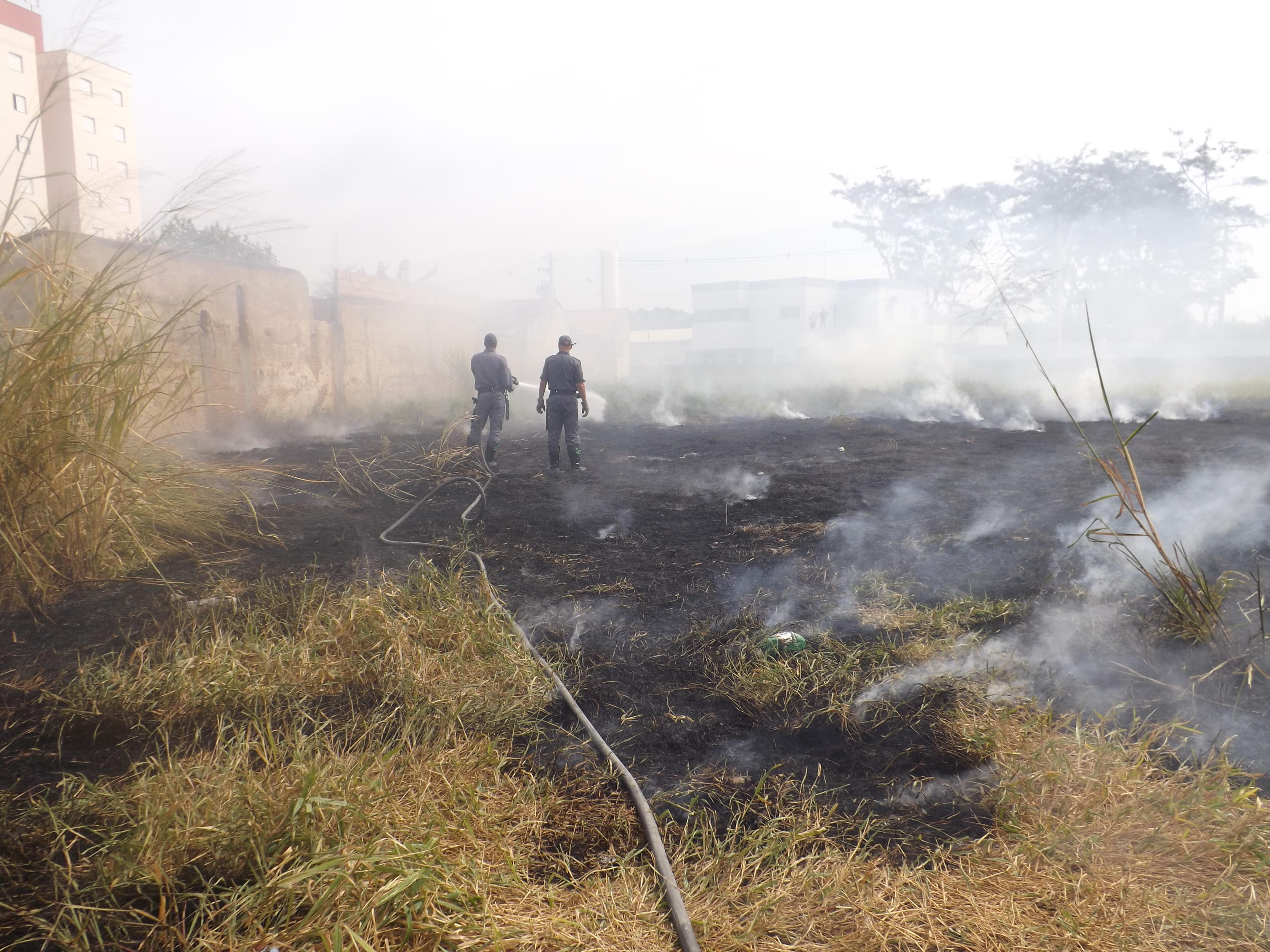 Bombeiros fogo terreno (2)