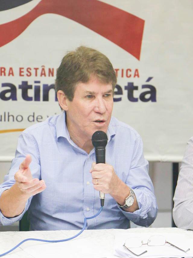 O prefeito Francisco Carlos, que deverá depender da Câmara para votar contra o parecer do Tribunal para garantir sua 'saúde política' (Arquivo Atos)