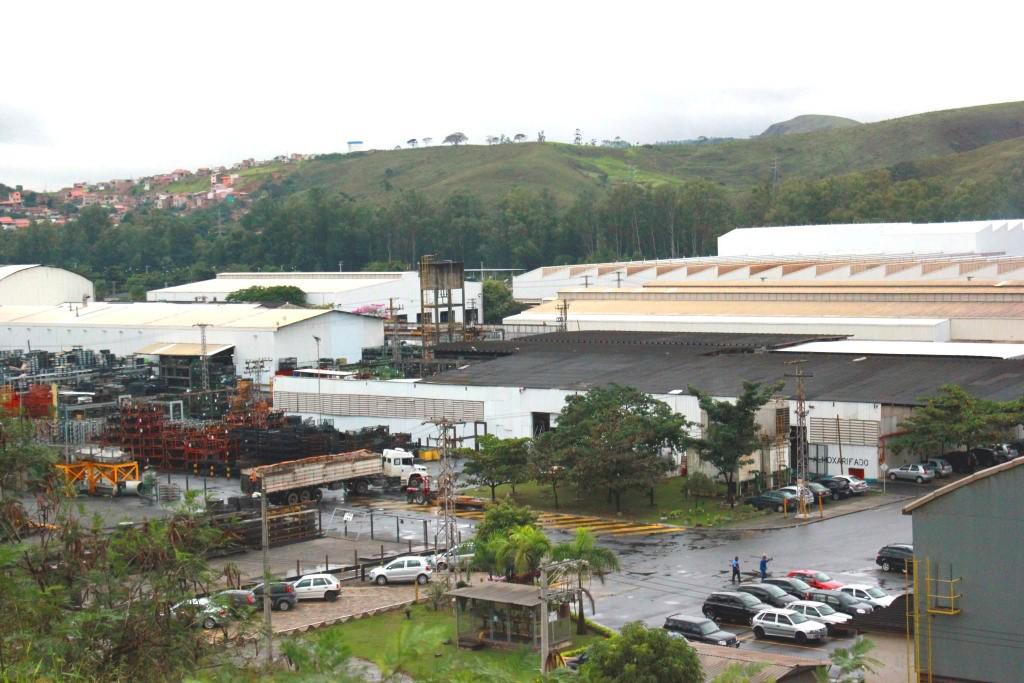 Vista da área de produção da Iochpe Maxion; principal empregadora da cidade tenta reverter crise (Arquivo Atos)