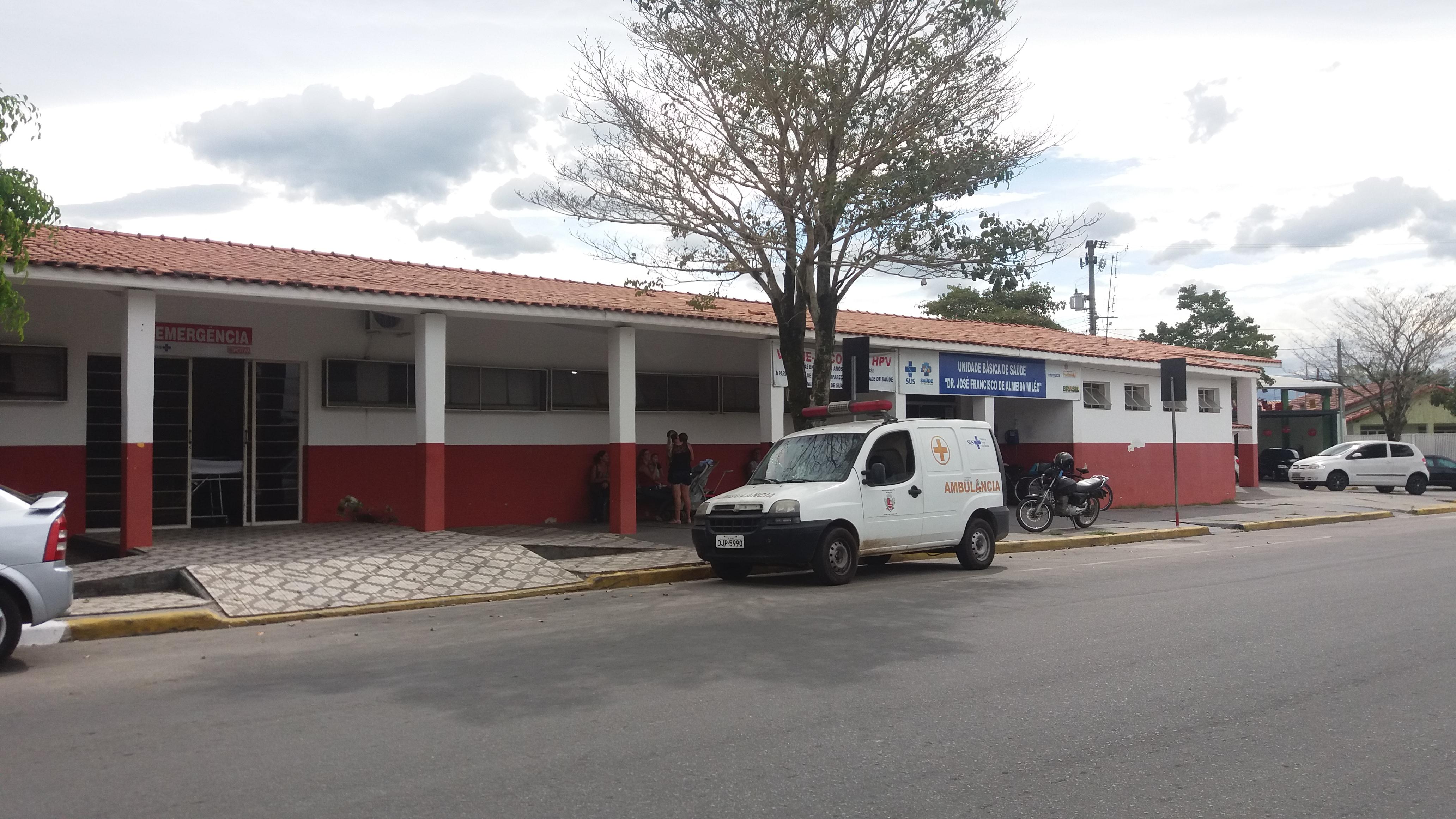 A Unidade Básica de Saúde centraliza a maior parte do atendimento em Potim; população critica falta de medicamento (Rafael Rodrigues)