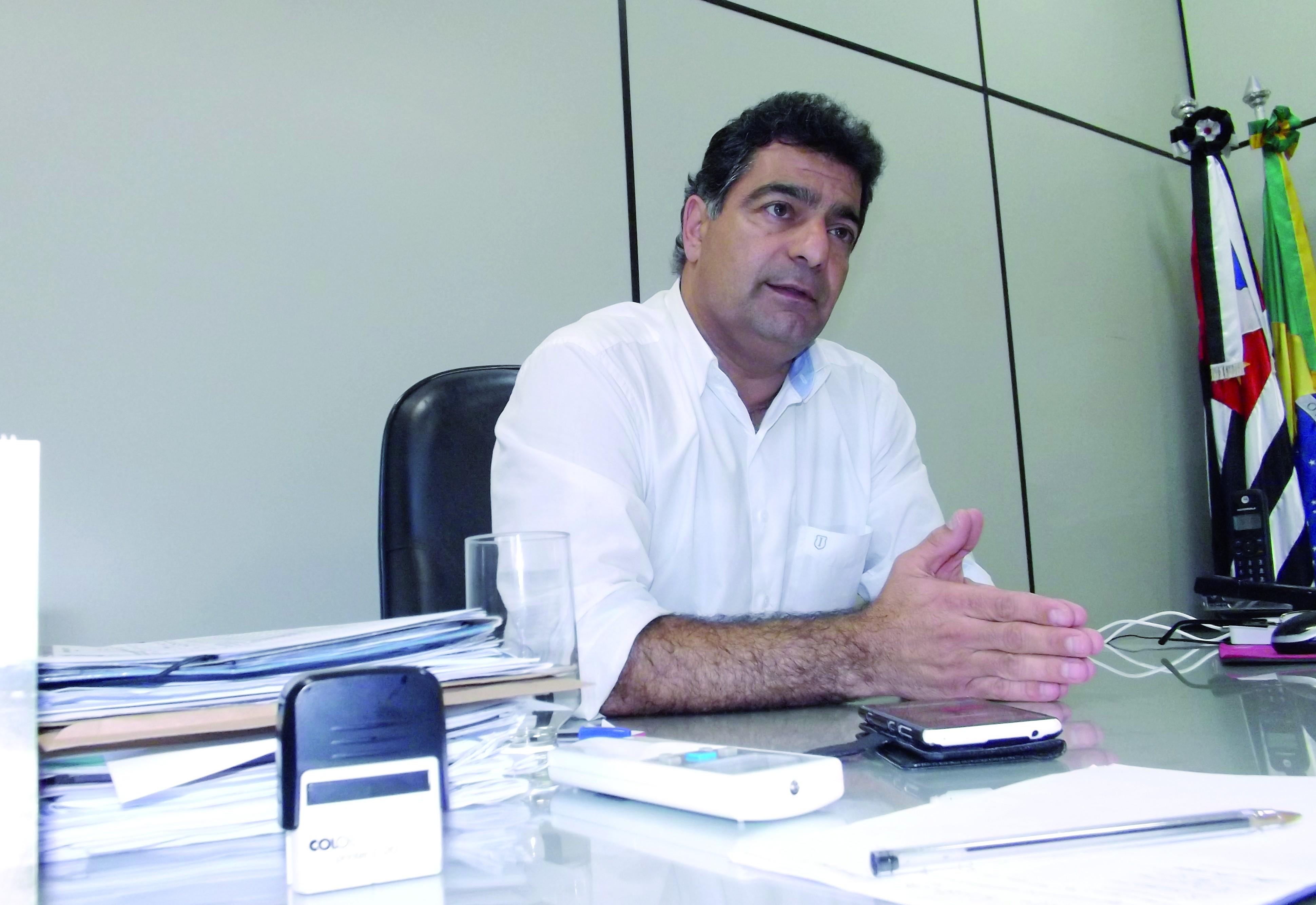 O vice-prefeito Rafic Simão, que terá contrato com OS investigado Foto: Arquivo Atos)