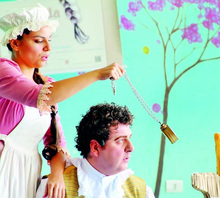 """""""Ópera na Escola"""" leva arte à rede pública de Pinda"""