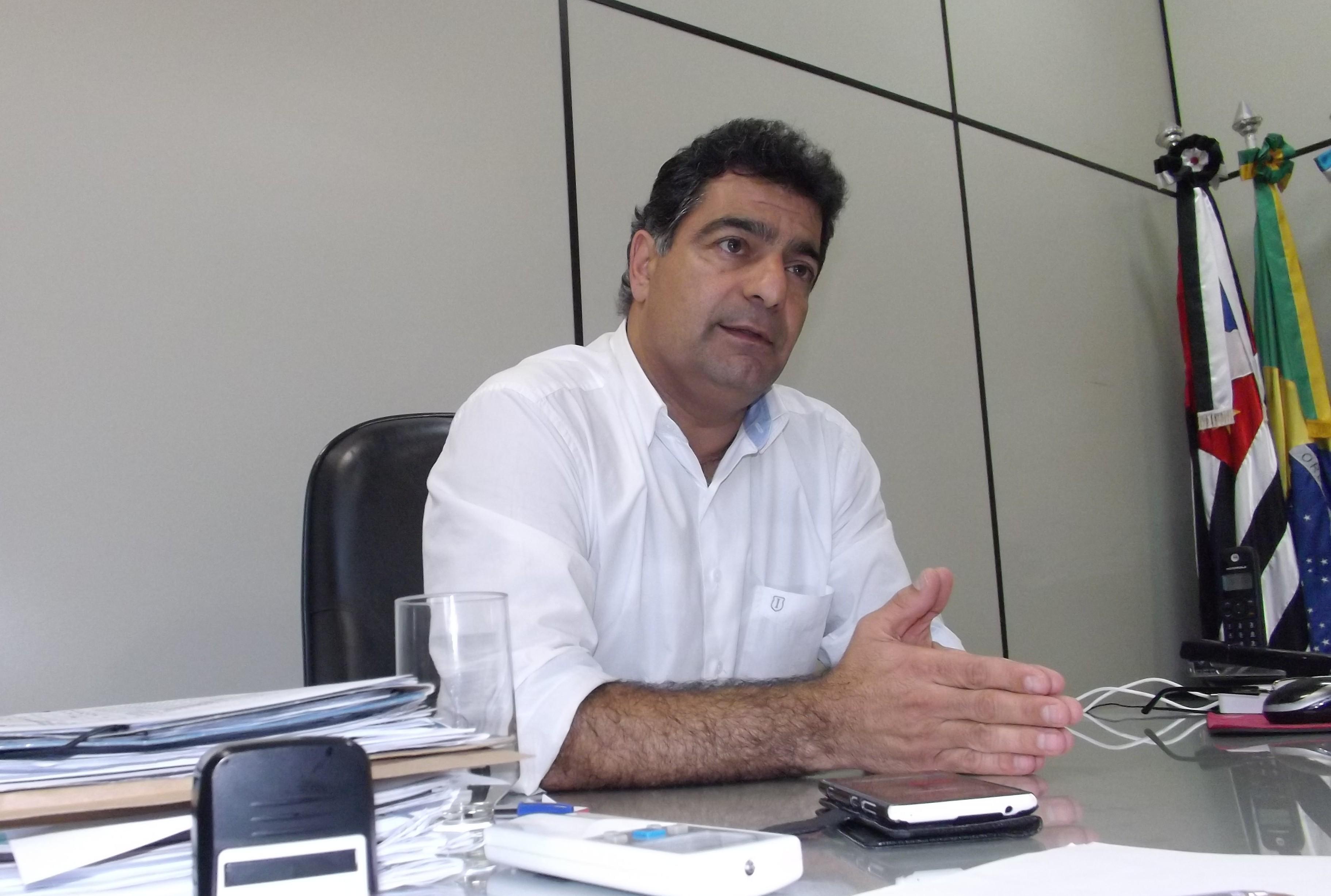 O candidato a prefeito Rafic Simão, que teve registro liberado pela Justiça (Foto: Arquivo Atos)