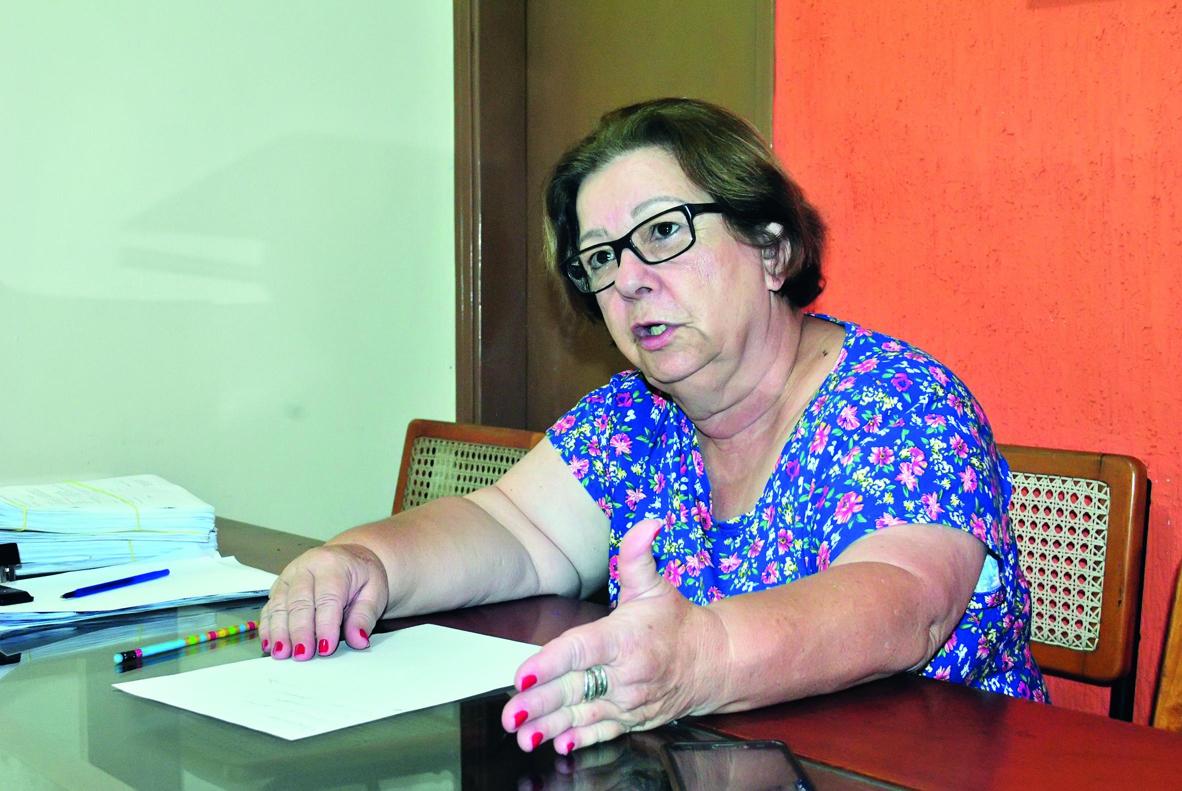 Reeleita em Piquete, Teca Gouvêa quer manter rigor na administração; cidade sofre com falta de recursos (Foto: Andreah Martins)