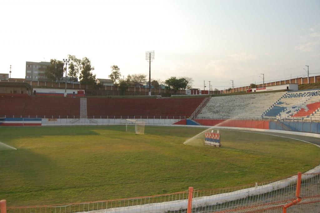 O estádio Dario Rodrigues Leite, que voltará a receber jogos da Copa São Paulo em 2017 (Foto: Arquivo Atos)