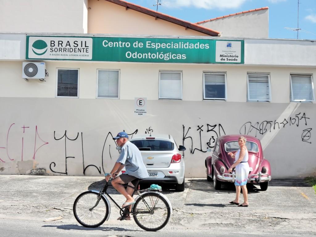 O Centro de Especialidades Odontológicas da rede pública de Cruzeiro; cidade quer ajustes no serviço (Foto: Maria Fernanda Rezende)