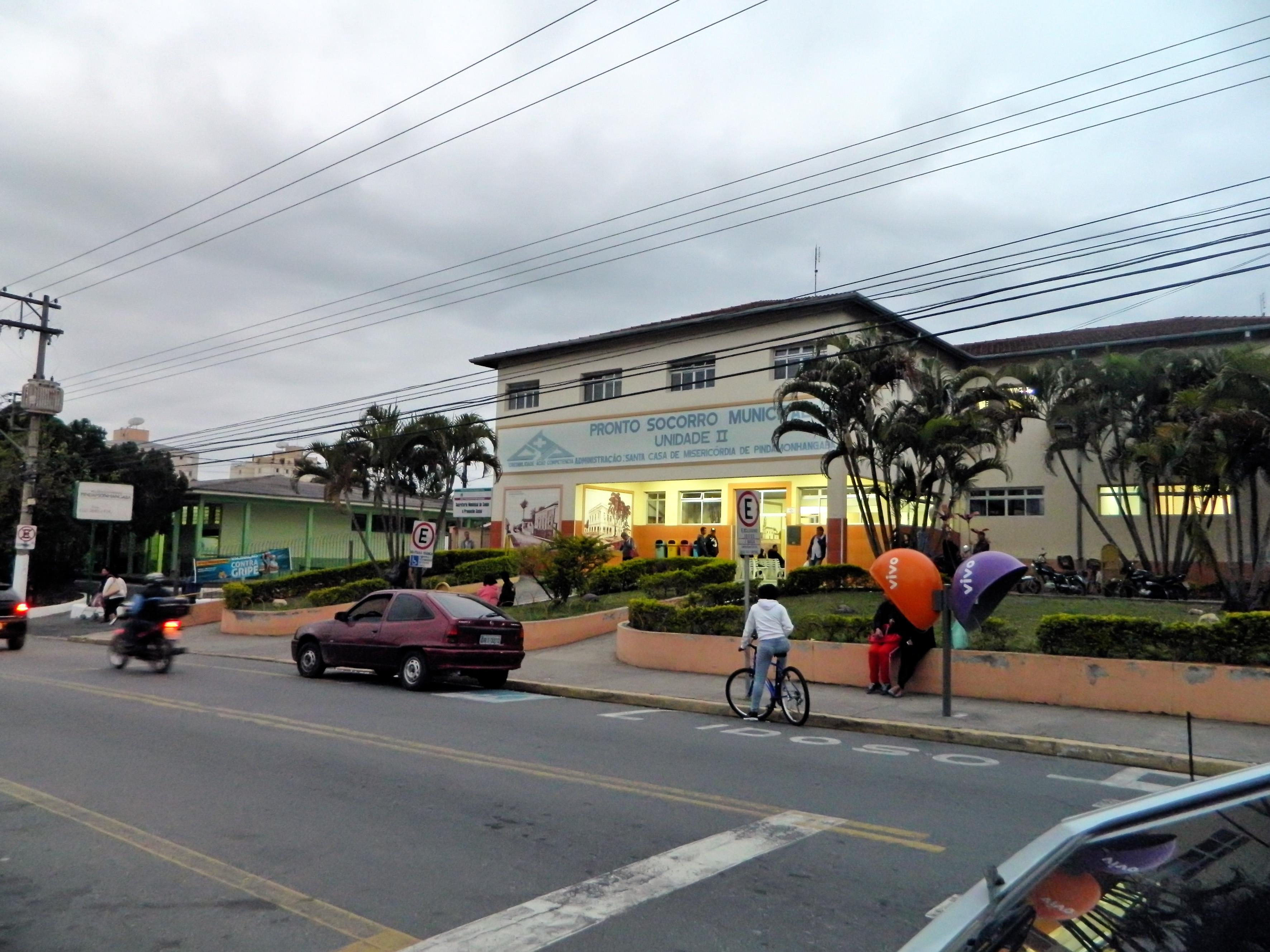 A Santa Casa de Pindamonhangaba; nova contratada para gerenciar atendimento já é alvo de questionamentos após um mês de contrato (Foto: Arquivo Atos)
