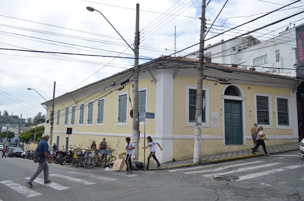 O museu Rodrigues Alves, que terá as portas abertas na próxima terça-feira; oito anos de espera (Foto: Leandro Oliveira)