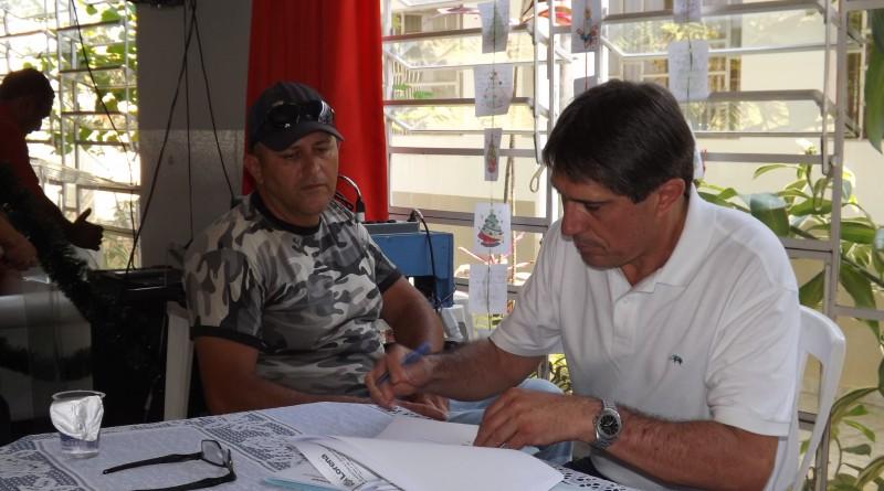 Prefeito Fábio Marcondes assina convênios com entidades no início do ano; parcerias para 2018 tem investimento de R$ 2,8 milhões (Foto: Arquivo Atos)