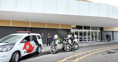 Um dos acessos do Eco Valle Shopping em Lorena; alvo de assaltante na tarde desta sexta-feira (Foto arquivo Atos)