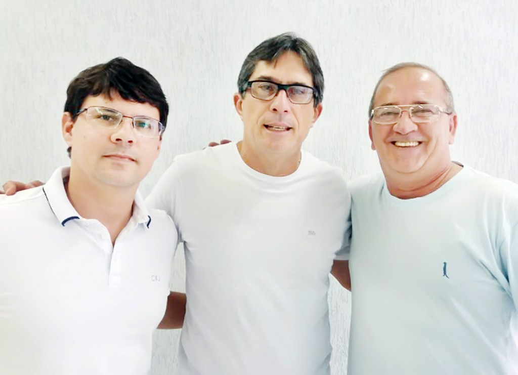 Daniel Malerba, Fabinho e Marco Sales