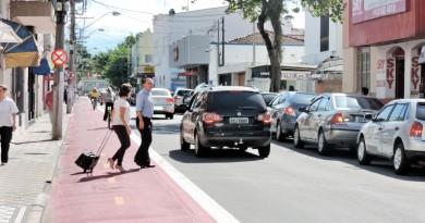 Trânsito de Lorena passou por alteração com obras de mobilidade; cidade segue debatendo Plano Diretor (Foto: Arquivo Atos)