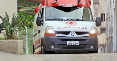 Ambulância do Samu; Pinda busca parceria com Guaratinguetá para novo sistema de atendimento (Foto: Arquivo Atos)