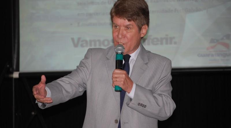 O ex-prefeito Francisco Carlos que recebeu apontamentos do TCE sobre as contas de 2013 (Foto: Arquivo Atos)