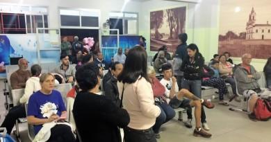 Área de espera no Pronto Socorro de Pinda; contratada para gerir atendimento, ABBC é alvo de críticas de vereadores nas últimas semanas (Foto: Arquivo Atos)