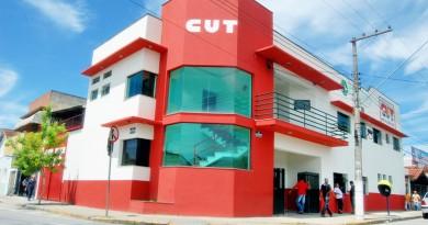 A sede do Sindicato dos Metalúrgicos de Pindamonhangaba; prédio parado para obras por seis meses (Foto: Reprodução)