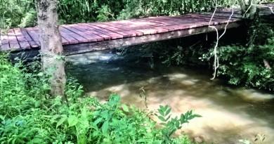 Rio em bairro da zona rural de Silveiras; cidade avalia adesão de moradores para implantar sistema de tratamento de água junto à Sabesp (Foto: Divulgação)