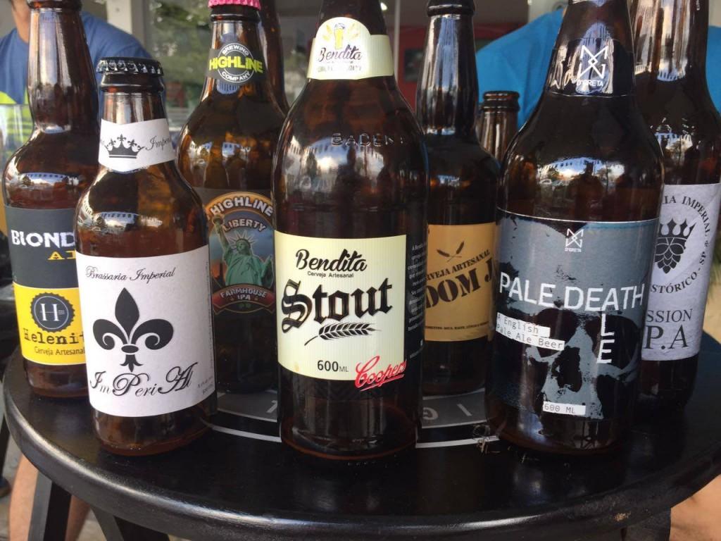 Cervejas artesanais que fazem parte do 1º BrejaFest do Mercadão (Foto: Reprodução Confraria Imperial do Vale Histórico)