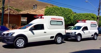 Veículos entregues à rede municipal de Queluz; emendas reforçam a saúde (Foto: Divulgação)