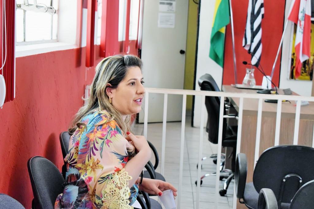 A prefeita Erica Soler, que conseguiu a aprovação de novos salários (Foto: Arquivo Atos)