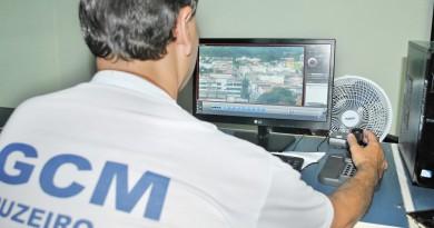 Monitoramento da Guarda Municipal de Cruzeiro; cidade avança com Plano Municipal de Segurança (Foto: Arquivo Atos)