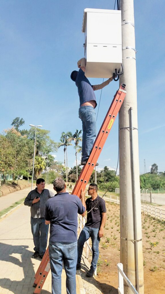 Pinda amplia programa Cidade Inteligente e Humana; novos pontos recebem sinal de wi-fi (Foto: Divulgação)
