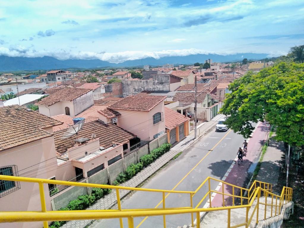 Casas entre os bairros Vila Geny e Jardim Margarida, em Lorena (Foto: Arquivo Atos)