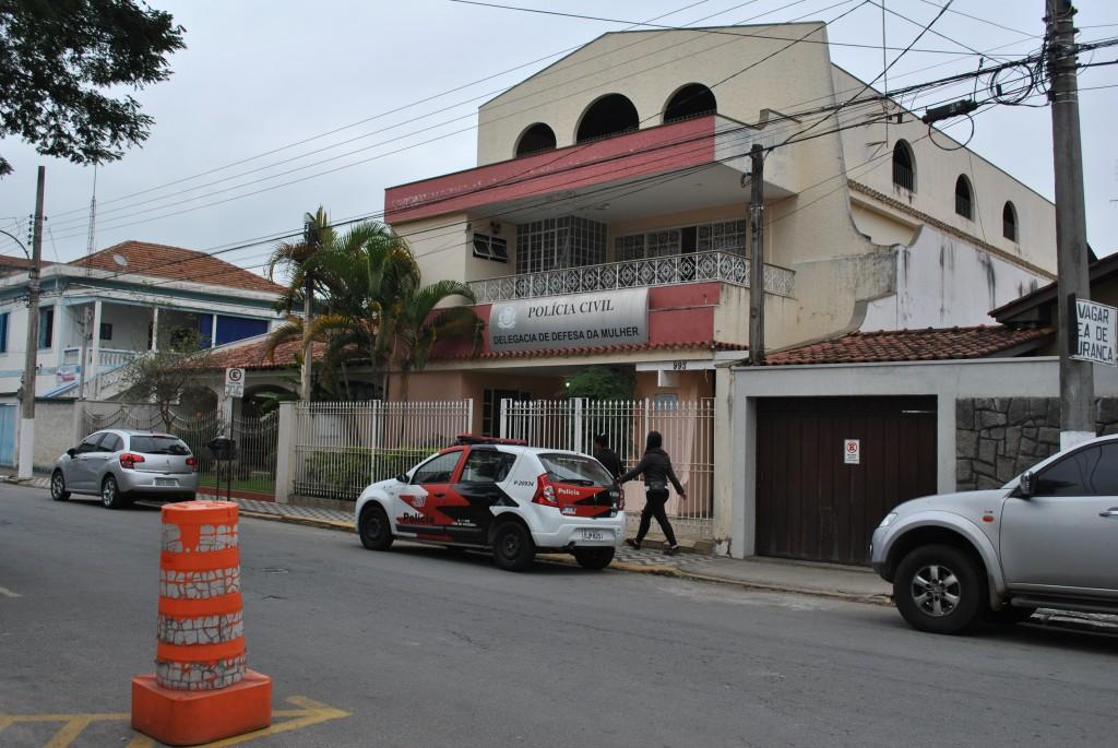 A Delegacia de Defesa da Mulher de Cruzeiro; índice de estupros cresce no primeiro semestre e deixa população da região preocupada (Foto: Andreah Martins)